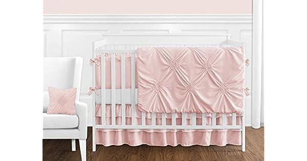 Amazon.com: Color sólido rosa Shabby Chic Harper bebé niña ...
