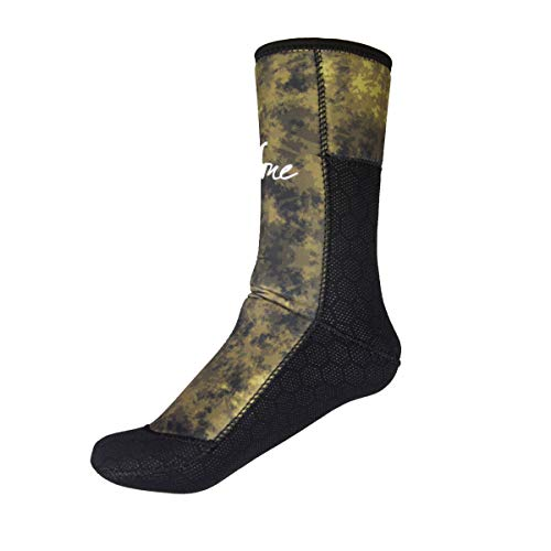 Layatone Diving Socks Adults 5mm Neoprene Socks Boots Surfing Swimming Beach Water Wetsuit Socks Boots Non-Silp Spearfishing Boots Shoes Socks Men Women