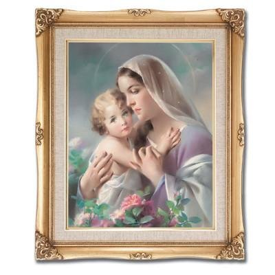Madonna and Child Framed Art by Discount Catholic Store
