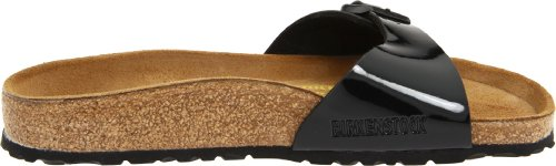 Birkenstock Madrid Black Patent Womens Sandals Black Patent