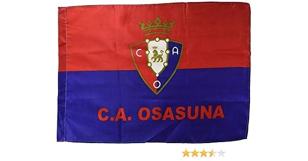 Club Atlético Osasuna Banosa Bandera, Negro/Rojo, Talla Única ...