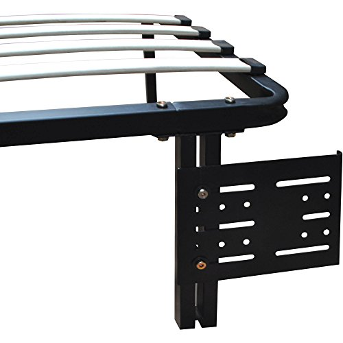 Premier Flex Headboard/Footboard Brackets, Black (Premier Metal)