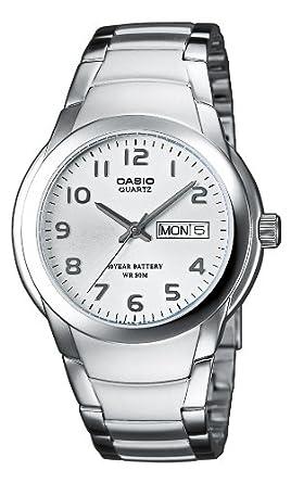 Amazon.com: Casio MTP-1229D-7AVEF Gents Watch Quartz ...