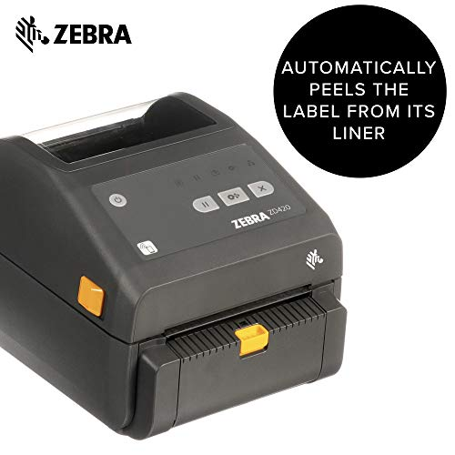 Zebra - Peeler Attachment for ZD420c, ZD420t, and ZD620t Thermal Transfer Desktop Printers - Field Installable by Zebra Technologies (Image #1)