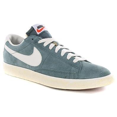 pretty nice f65d3 19e31 Nike Blazer Low Premium Vntg 443903-300 Herren Schuhe Bleiern ...