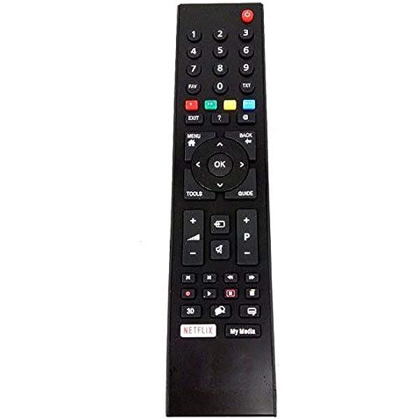 Mando a Distancia Compatible TS1187R GRUNDIG Smart LCD TV RC3214801/02, TP7 TS1187R-1, Vestel: Amazon.es: Electrónica