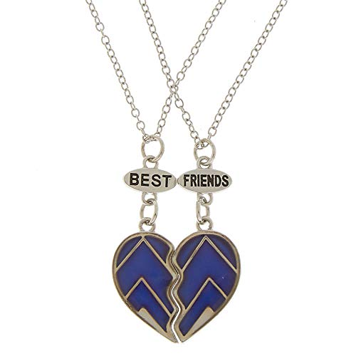 Claire's Girl's Best Friends Mood Chevron Heart