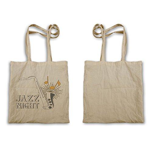 INNOGLEN Jazz Night Saxophone bolso de mano w669r