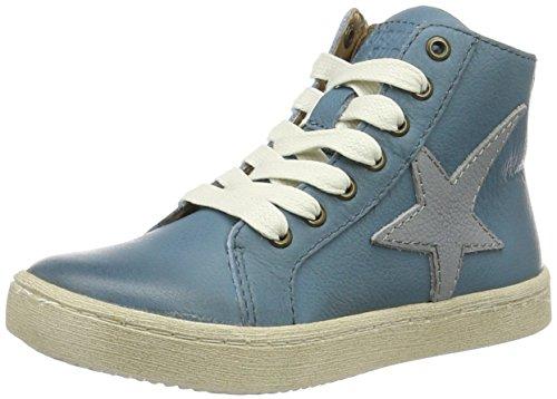 Bisgaard Schnürschuhe - Zapatilla Alta Unisex Niños Blau (600-3 Jeans)