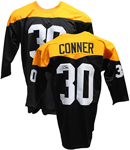 Authentic James Conner Autographed Signed Throwback Jersey (JSA COA) Pittsburgh Steelers RB