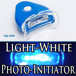 Teeth Whitening Light Kit with Photo Initiator gel of 44%