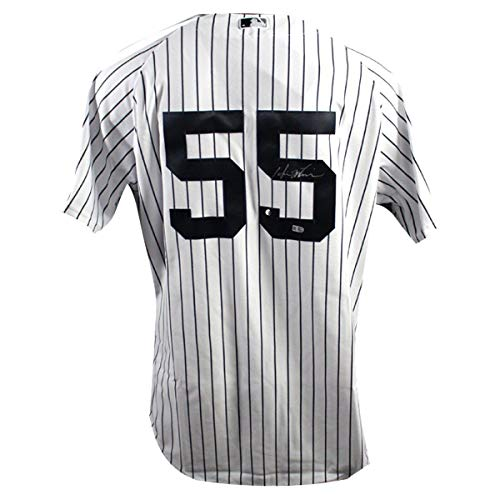 - Hideki Matsui New York Yankees Signed Pinstripe Jersey With 2009 Inaugural Season & 2009 World Series Patch (MLB Authenticated) - Steiner Sports Certified