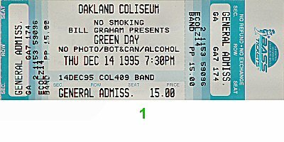 green day tickets - 1