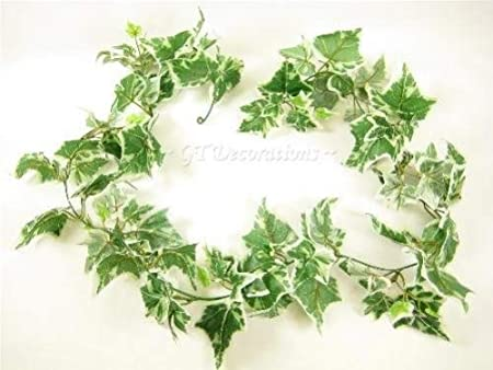 6ft Large Leaves Realistic Artificial Ivy Garlands