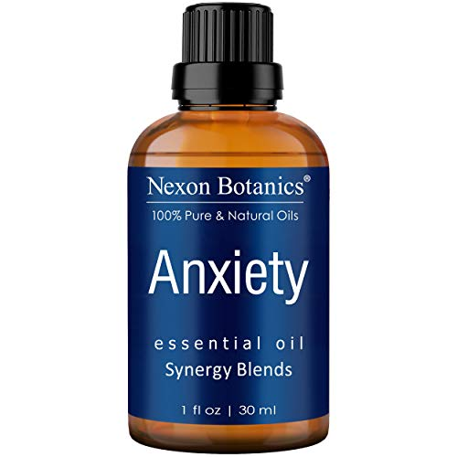 Anxiety Essential Oil Blend 30 ml - Diffuses Stress Away, Stress Relief Essential Oil - Relaxation, Calming Essential Oils - Can be Used for Aromatherapy and Diffuser from Nexon Botanics