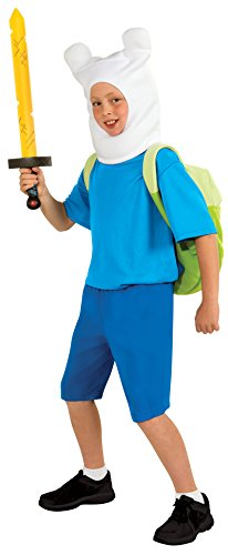 Rubies Adventure Time Child's Deluxe Finn Costume,