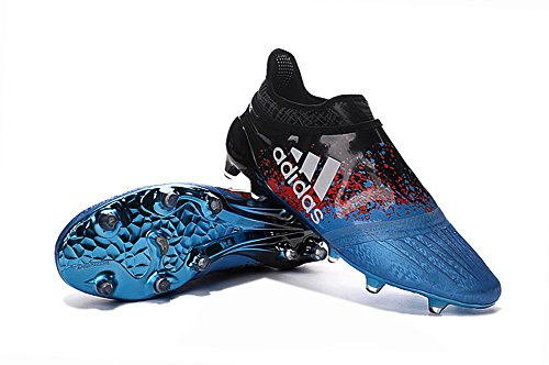 Bleu 16 Fgag Chaussures Football Zhromgyay homme X Bottes Soccer nbsp;Purechaos pour PRwpI8