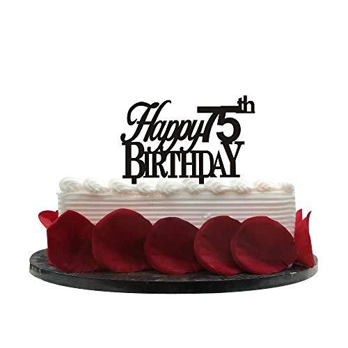 Minhero Lee Happy 75th Birthday Cake Topper