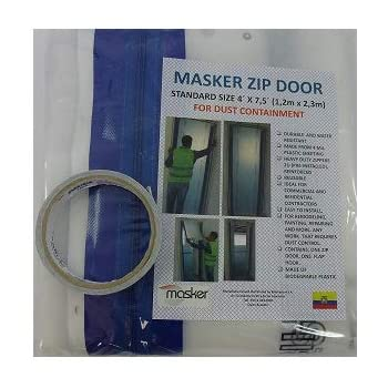 Tiger Tough Heavy Duty Adhesive Containment Zippers 84