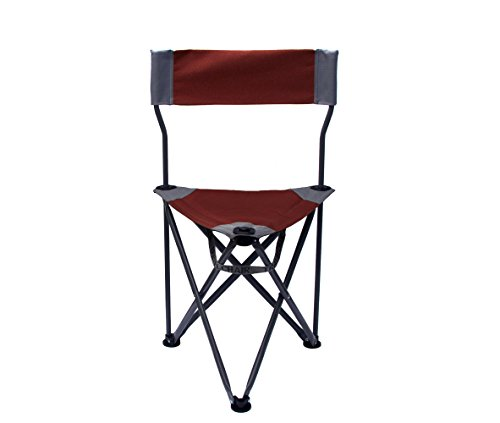 TravelChair Ultimate Slacker 2.0, Superior Seating Area in a Tripod Seat, Red
