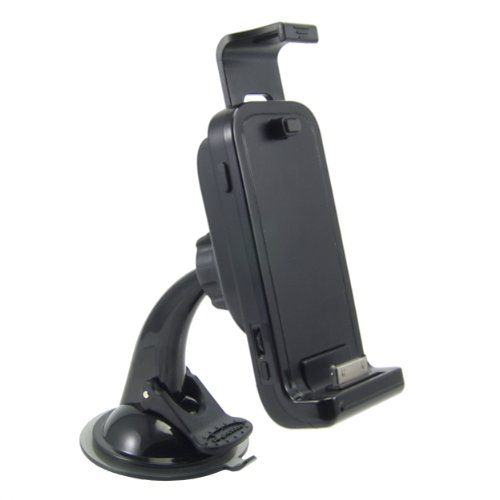 ARKON RWIPC GPS Car Kit and Powered Docking Mount with Bluetooth for iPhone and iPod ()