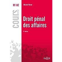 Droit pénal des affaires (Cours) (French Edition)