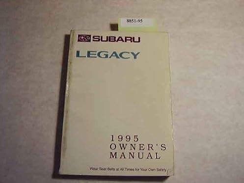 1995 subaru legacy owners manual subaru amazon com books rh amazon com 1995 subaru legacy wagon owners manual 1995 subaru legacy factory service manual