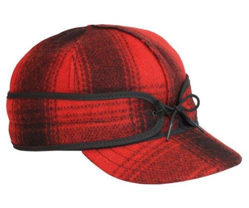 Stormy Kromer Men's Original Wool Cap,Red,6.75