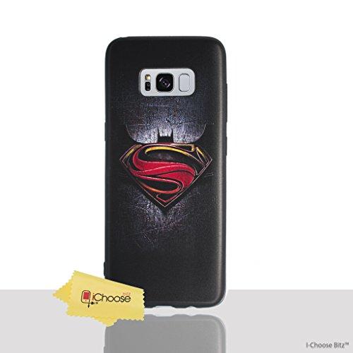 3D Marvel Funda/Cubierta del Teléfono para Samsung Galaxy S7 (G930) con Protector de Pantalla / Silicona Suave de Gel/TPU / iCHOOSE / Captain America - Proteger Superman