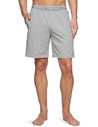 Classic Jersey Mens Lounge Shorts, Grey