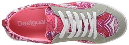 Shoes P Blanco de Running Desigual Mujer Zapatillas Blanco 1000 Classic para dEWnq4
