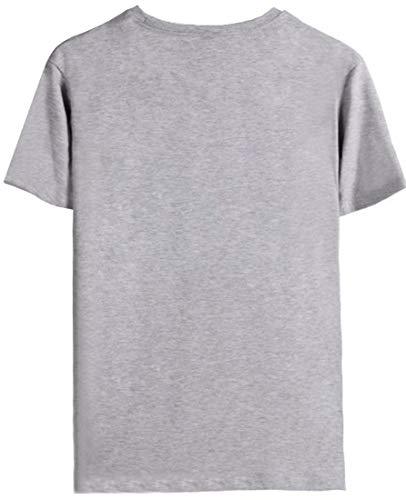 Cool Xxxtentacion Emilyle Rap Uomo Revenge Graphic Grigio Stampa T Crepacuore Maglietta shirt xFx0n