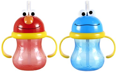 Munchkin Sesame Street Character Cup, 8 Ounce, 2 (Character Cups)
