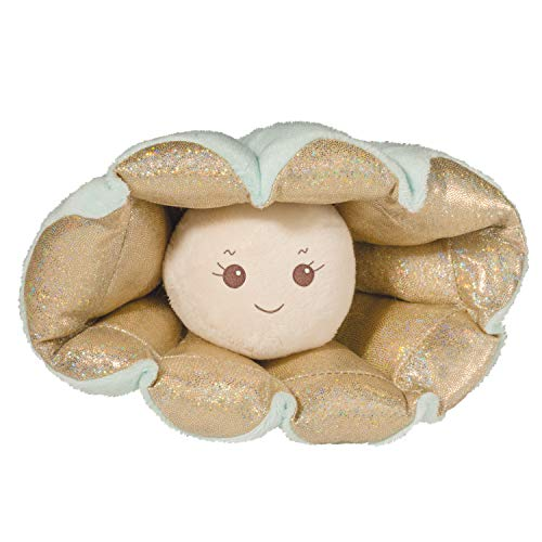 Douglas Plush Moondrop Oyster with Pearl Stuffed Animal