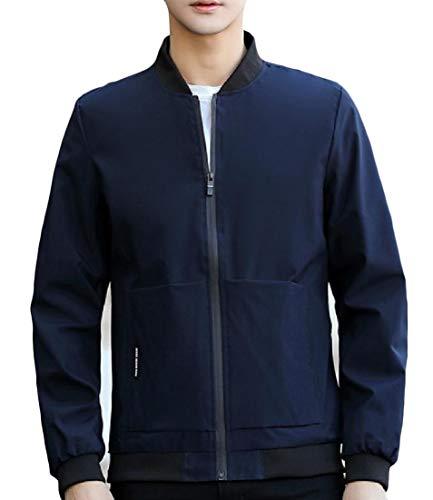 Outwear Coreana Svago Pattern2 Lungo Colletto Degli Alla Uomini Di Plus Cappotto Angelspace size Tasca Manicotto CqqX4SwO