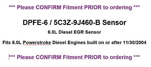 Motorcraft DPFE6 Exhaust Gas Recirculation Pressure Feedback Sensor