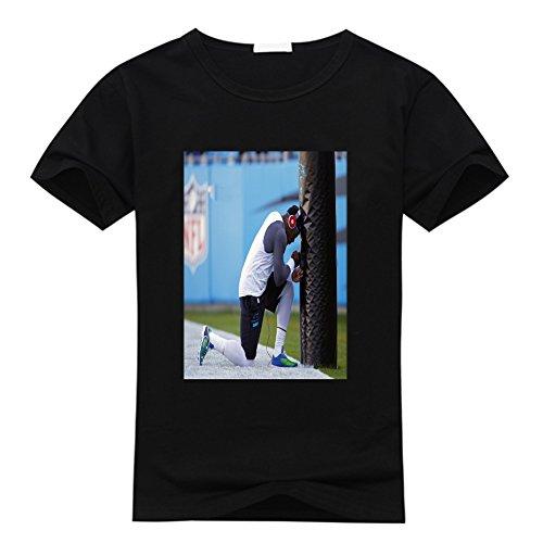 DIY Printing Cam Newton O Neck Compression T Shirt For Men