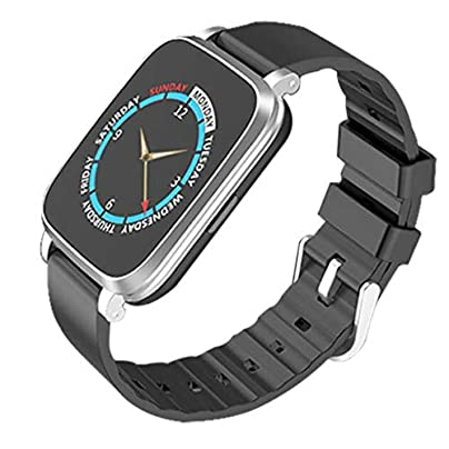 Fitness Tracker Smart watch Waterproof Sports Bracelet Activity Pedometer with Sleep Monitor Bluetooth Stopwatch Wristband with Call SMS Push for Android and iOS Estimated Price £34.21 -