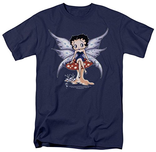 Fairy Xxl T-shirt - Betty Boop - Mushroom Fairy T-Shirt Size XXL