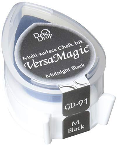 Tsukineko VersaMagic Dew Drop Inkpad of All Kinds, Midnight Black