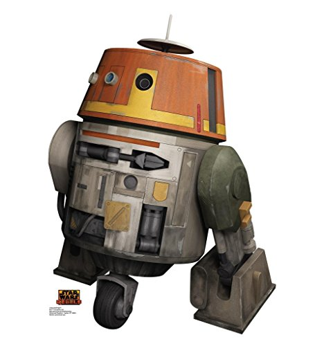 [Chopper - Disney's Star Wars Rebels - Advanced Graphics Life Size Cardboard Standup] (Star Wars Chopper)