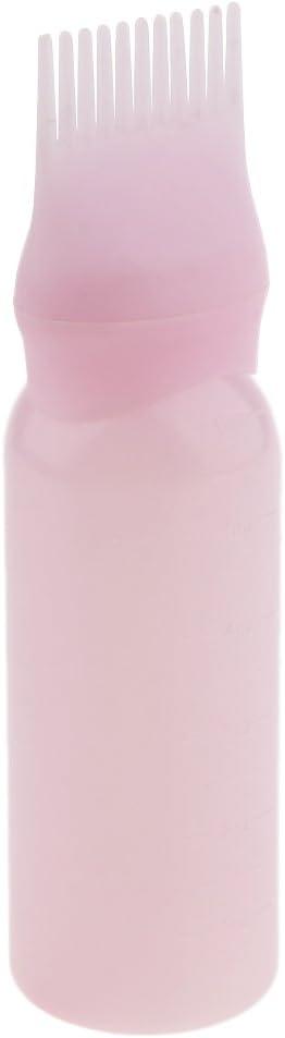 Botella de Tinte de Pelo de Plástico de 120ml de Color Rosa ...