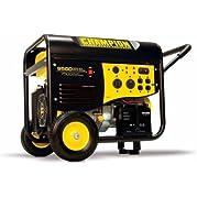 Champion Power Equipment Model 41534, 7500/9500 Watt Portable Gas-Powered Generator Electric Start 50 Amp + RV...