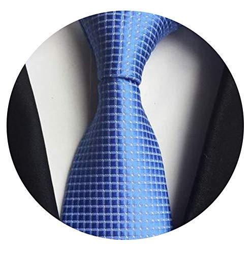 Silk Ties Mens Neck Tie Striped Ties for Men Wedding Suit Business Party,22 -