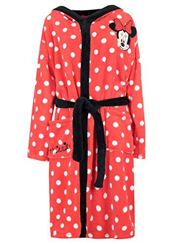 Disney Womens' Minnie Mouse Robe Size Medium Red -