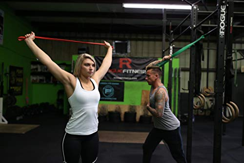 WODFitters Resistance bands Green - Single Band Assisted Pull-up Resistance Band Cross Fitness Training Power-lifting by WODFitters (Image #5)
