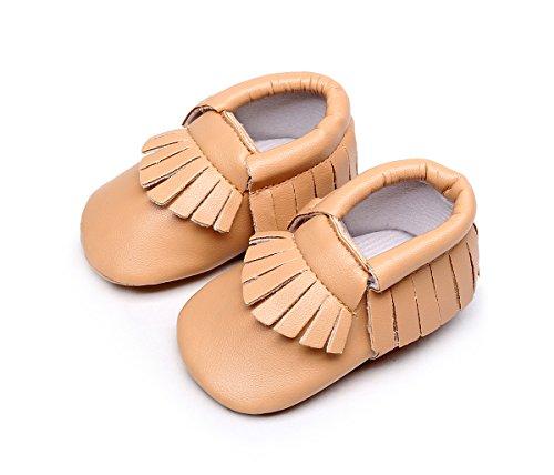 AngelaKerry - Zapatos primeros pasos para niño caqui