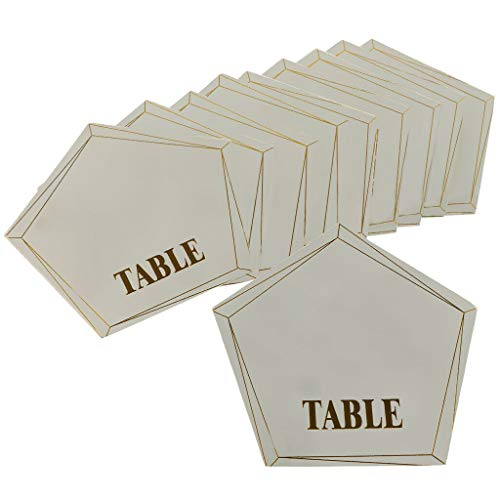 Pack of 10pcs Wedding Party Table Place Cards Note Message Cards Gift Favor