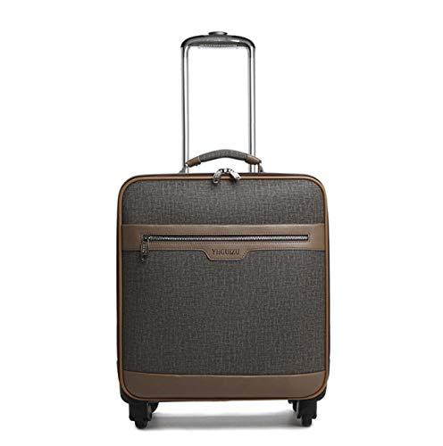 ShiMin トロリーケースビジネス搭乗puレザースーツケーススーツケースメンズユニバーサルホイール荷物ロックボックス (Size : 24) 24  B07PQKG4C9