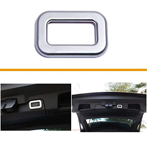 ABS Plastic Electric Tail Door Switch Button Frame Trim Cover for Landrover Range Rover Discovery 5 LR5 Evoque Vogue Sport Velar L405